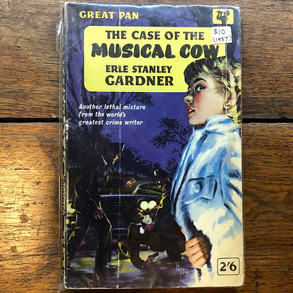 Gardner, Erle Stanley - The Case of the Musical Cow paperback