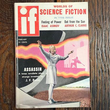 If : Worlds of Science Fiction Magazine - February 1958