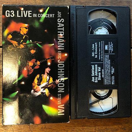 Joe Satriani, Eric Johnson, Steve Vai Live VHS