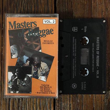 Masters of Reggae Vol. 2 - Cassette Tape