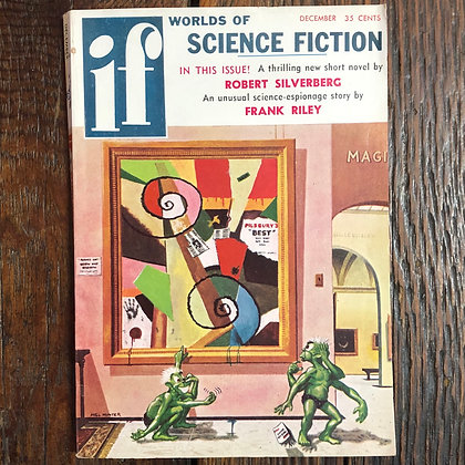 If : Worlds of Science Fiction Magazine - December 1957