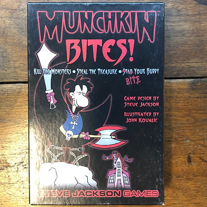 Munchkin BITES! *complete* card game.