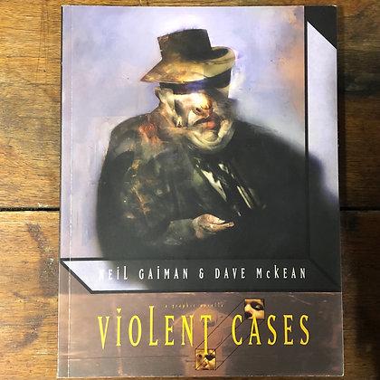 Violent Cases : Neil Gaiman & Dave McKean - Softcover comic