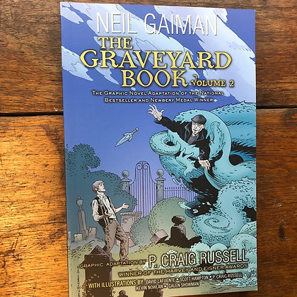 Gaiman, Neil - The Graveyard Book vol 2 graphic novel