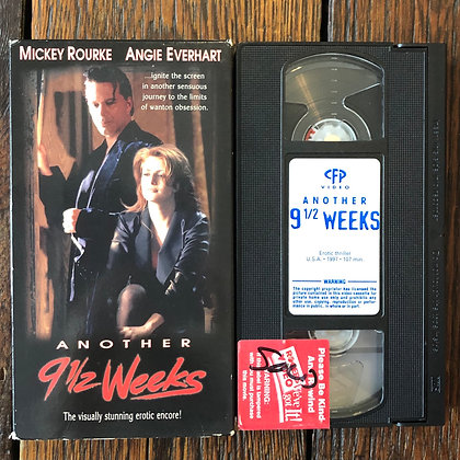 Another 9 1/2 Weeks - VHS (ex rental)