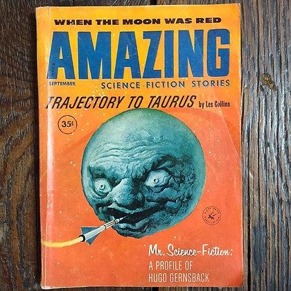 Amazing Science Fiction Stories Magazine : September 1960