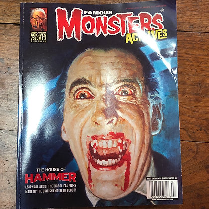 Famous Monster ACK-IVES magazine