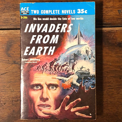 Invaders From Earth/Across Time Ace Double Paperback