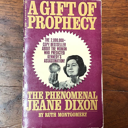 Montgomery, Ruth - A Gift Of Prophecy paperback