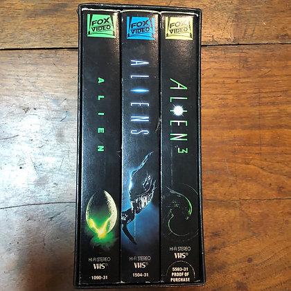 Alien trilogy VHS