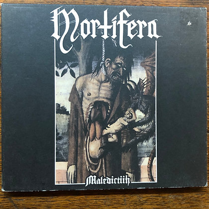 Mortifern - Maledictiih CD