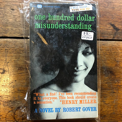 Gover, Robert - One Hundred Dollar Misunderstanding paperback