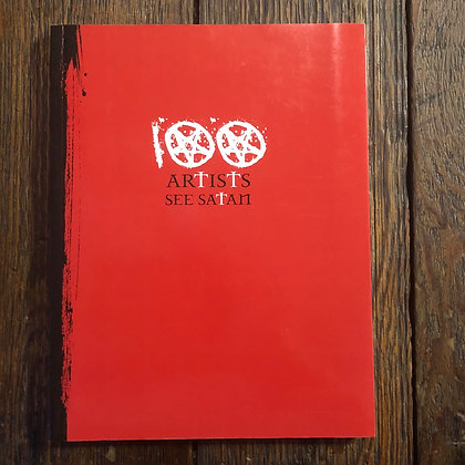 100 Artists See Satan - Softcover Art Book