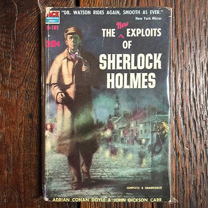 Doyle/Carr : The Exploits of Sherlock Holmes - Paperback (1954)