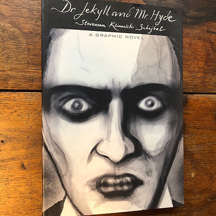 Stevenson - Dr. Jekyll and Mr. Hyde graphic novel