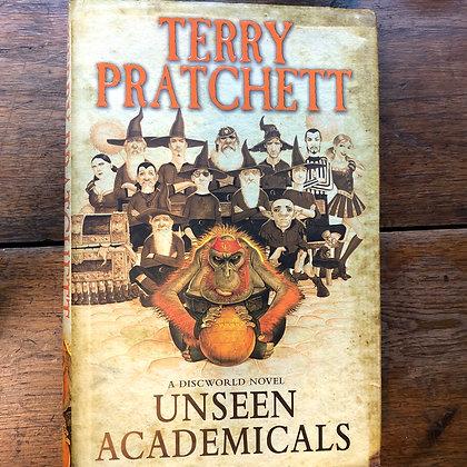 Pratchett, Terry - Unseen Academicals hardcover