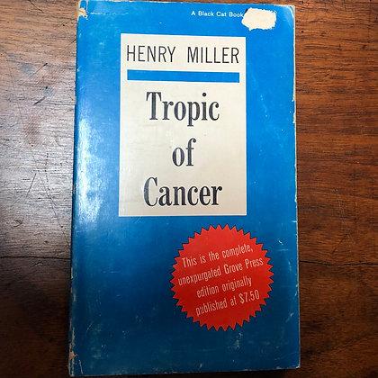 Miller, Henry - Tropic of Cancer paperback