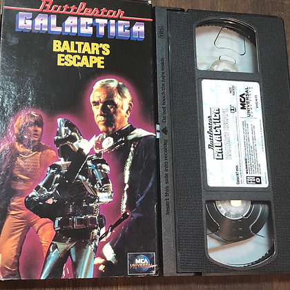 Battlestar Galactica - Baltar's Escape VHS