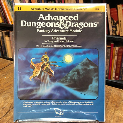 Dungeons & Dragons, Advanced - Pharaoh
