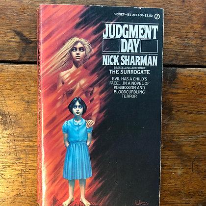 Sherman, Nick - Judgement Day paperback
