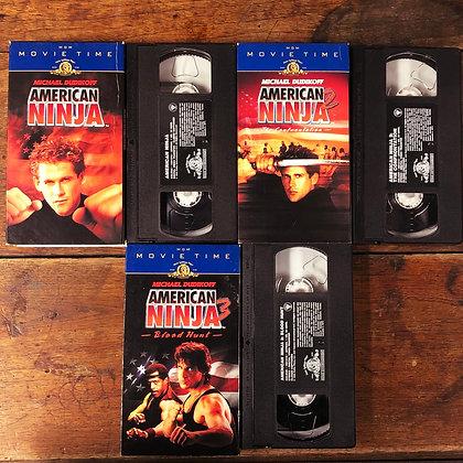 American Ninja 1-3 - VHS