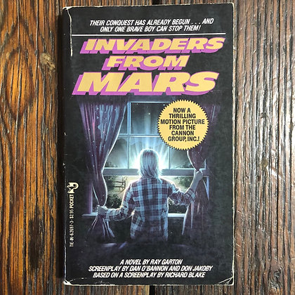 Garton, Ray : Invaders from Mars - Paperback