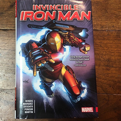 Invincible Iron Man - #1-14 hardcover graphic novel