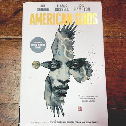AMERICAN GODS - hardcover comic
