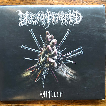 Decapitated - Anticult CD