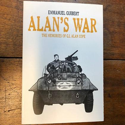 Alan's War - Emmanuel Guibert softcover graphic novel