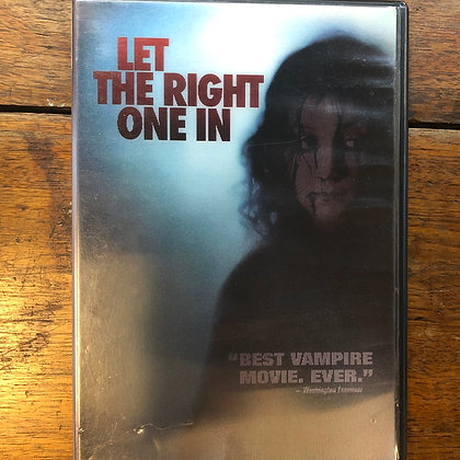 Let the Right One In - Swedish with English subtitles DVD