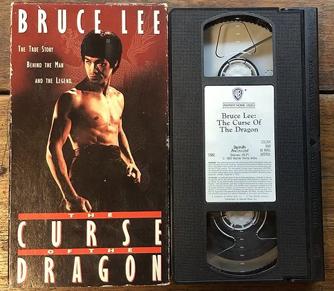 Bruce Lee - The Curse of the Dragon VHS