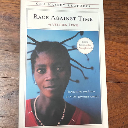 Lewis, Stephen - Race Against Time softcover