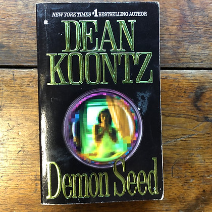 Koontz, Dean - DEMON SEED softcover