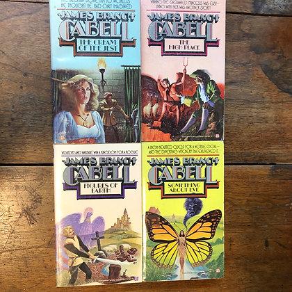 Cabell, James Branch - 4 Book Lot paperbacks