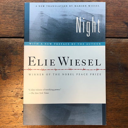 Wiesel, Elie - Night softcover