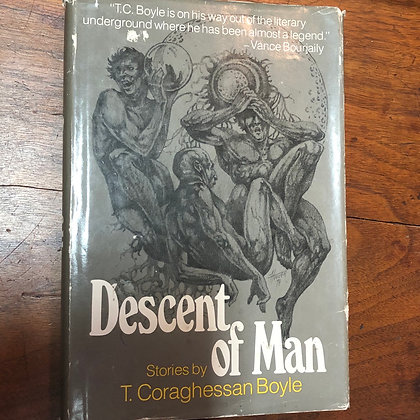 Boyle, T. Coraghessan - Descent of Man first edition hardcover