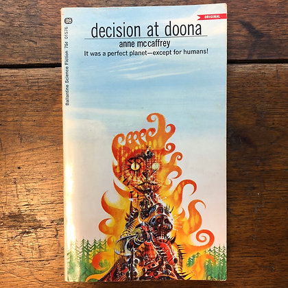 McCaffery, Anne - Decision at Doona softcover