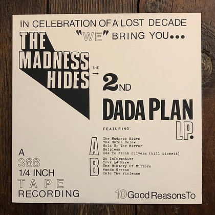 DADA PLAN : The Madness Hides - Vinyl LP