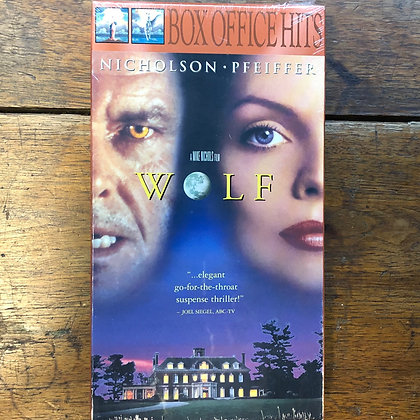 Wolf VHS *sealed*