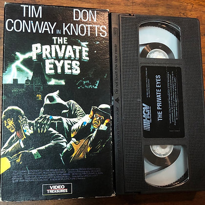 The Private Eyes VHS
