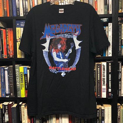 MEGADEATH shirt XL : Rattlehead (blue)