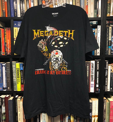 MEGADEATH shirt XL : Killing Is My Business