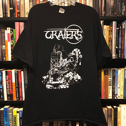Craters band T-shirt XXL