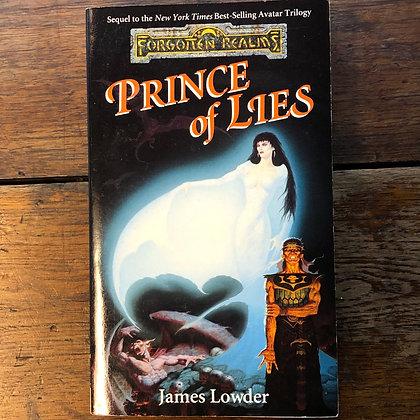 Lowder, James : PRINCE OF LIES - Paperback
