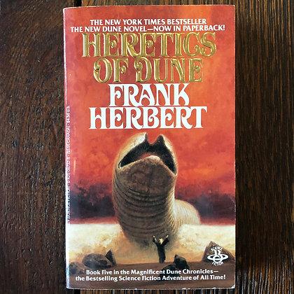 Herbert, Frank - Heretics of Dune paperback