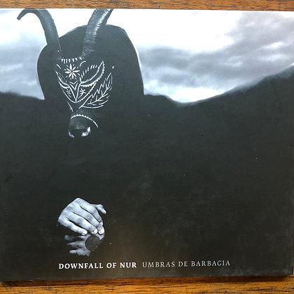 Downfall of Nur - Umbras De Barbagia CD
