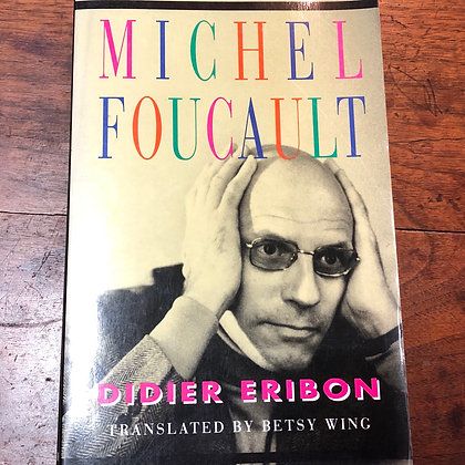 Eribon, Dider - Micheal Foucault softcover