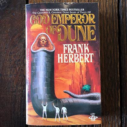 Herbert, Frank - God Emperor of Dune paperback