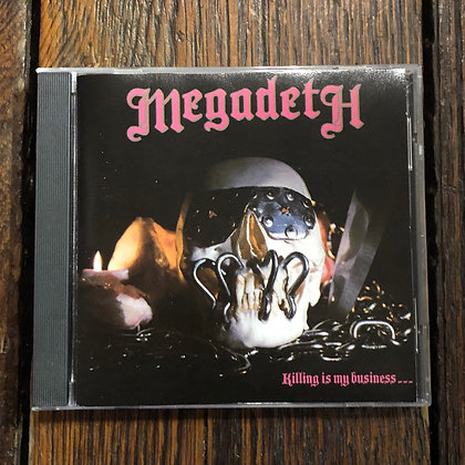 MEGADEATH : Killing is My Business... - (1990) CD